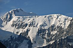 Belukha mountain 4506m, Altai, Russia Stock Photo