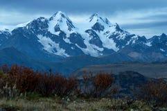 Belukha mountain at sunset Royalty Free Stock Photos
