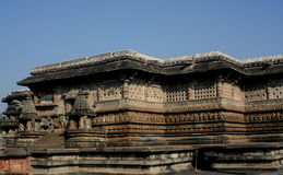 belur寺庙 库存图片