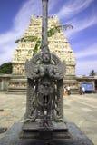 belur garuda印度雕象 库存照片