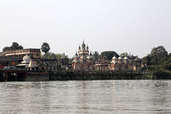 Belur-Mathe, Hauptsitze von Ramakrishna-Auftrag in Kolkata lizenzfreie stockbilder