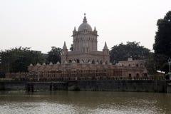 Belur-Mathe, Hauptsitze von Ramakrishna-Auftrag in Kolkata lizenzfreies stockbild