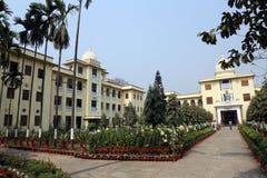 Belur-Mathe, Hauptsitze von Ramakrishna-Auftrag in Kolkata lizenzfreies stockfoto