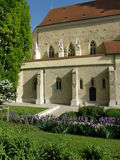 Belvà ¡ ros教会,布达佩斯,匈牙利 免版税图库摄影