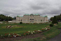 Belvédère à Vienne photo stock
