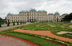 Belvédère à Vienne photo libre de droits