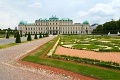 Belvédère à Vienne, Autriche photos libres de droits