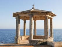 Belvédère, ` Agaro, Costa Brava, Espagne de S Photos stock