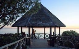 Belvédère au parc de Heisler, Laguna Beach, la Californie o Images stock