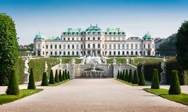 Belvédère célèbre de Schloss à Vienne, Autriche images stock
