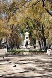 Belvédère de jardin de San Pedro de Alcantara photo libre de droits
