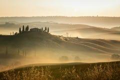 Belvédère de la Toscane photos libres de droits