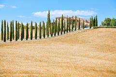 Belvédère de la Toscane photographie stock