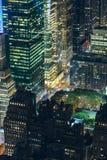 Belvédère de New York City Images libres de droits
