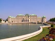 Belvédère de palais à Vienne photographie stock libre de droits