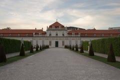 Belvédère de palais à Vienne, Autriche image libre de droits
