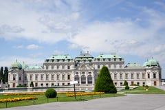 Belvédère de palais d'été à Vienne photos libres de droits