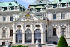 Belvédère de palais d'été à Vienne photo libre de droits