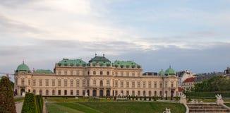 Belvédère de Royal Palace à Vienne images stock