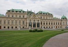 Belvédère de Schloss, Vienne, Autriche photographie stock libre de droits