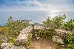 Belvédère Migliera dans Anacapri sur l'île de Capri, Italie photos libres de droits
