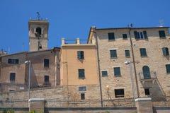 Belvédère Ostrense Ancona, Italie photo stock