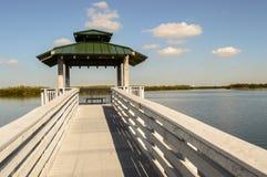 Belvédère sur le lac Photographie stock libre de droits