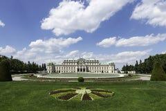 Belvédère, Vienne photo libre de droits
