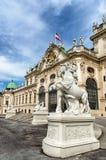 Belvédère, Vienne image stock