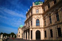 Belvédère Vienne de palais photographie stock libre de droits