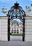 Belvédère Wien de Schloss photographie stock libre de droits