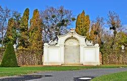 Belvédère Wien de Schlosspark photo stock
