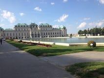 Belvdere. Palace İn Vienna Austria Stock Photos