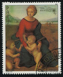 Belveder Madonna by Raphael Royalty Free Stock Photography