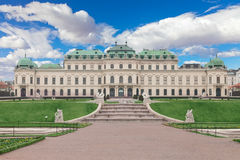 Belveder museum  in Vienna, Austria Stock Photography