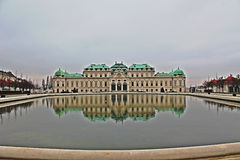 Belveder Wien Royalty Free Stock Images