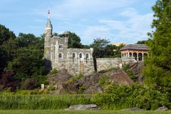 Belvedere Castle Royalty Free Stock Image