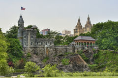 Belvedere castle. Central park new york Royalty Free Stock Photography