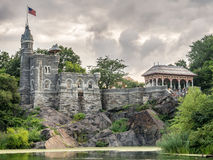 The Belvedere Castle in Central Park Stock Photos