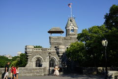Belvedere Castle 21. Originally designed in 1865 by Calvert Vaux and Jacob Wrey Mould, Belvedere Castle was intended to be a Victorian Folly, a fantasy structure stock photos