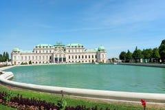 Belvedere Castle park - Vienna Stock Image