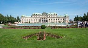 Belvedere Castle park - Vienna Stock Images