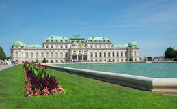 Belvedere Castle park - Vienna Royalty Free Stock Photos