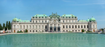 Belvedere Castle park - Vienna Royalty Free Stock Photo
