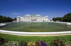 Belvedere castle - Vienna Stock Photos