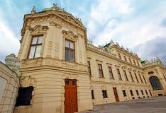 Belvedere Castle in Vienna. Austria . Beautiful picturesque Belvedere castle in Vienna. Austria Stock Image