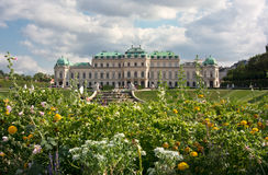 Belvedere castle, Vienna, Austria Stock Photography