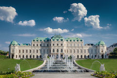 Belvedere Castle in Vienna Royalty Free Stock Images