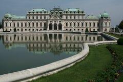 Belvedere castle, wien Royalty Free Stock Photography