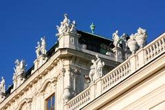 Belvedere castle in Wien, Austria Royalty Free Stock Photography